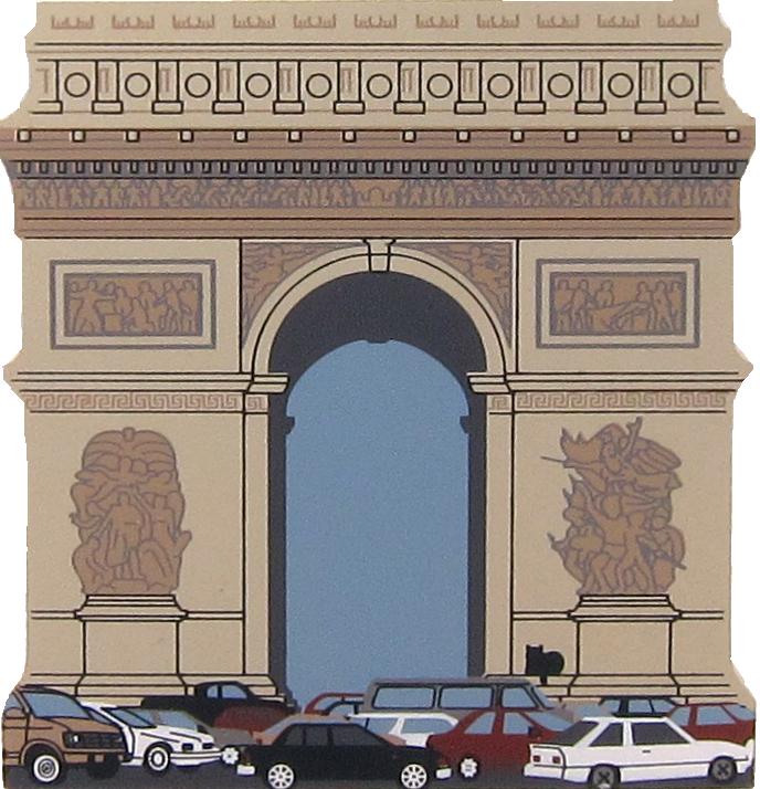 Arc De Triomphe Paris France The Cat S Meow Village