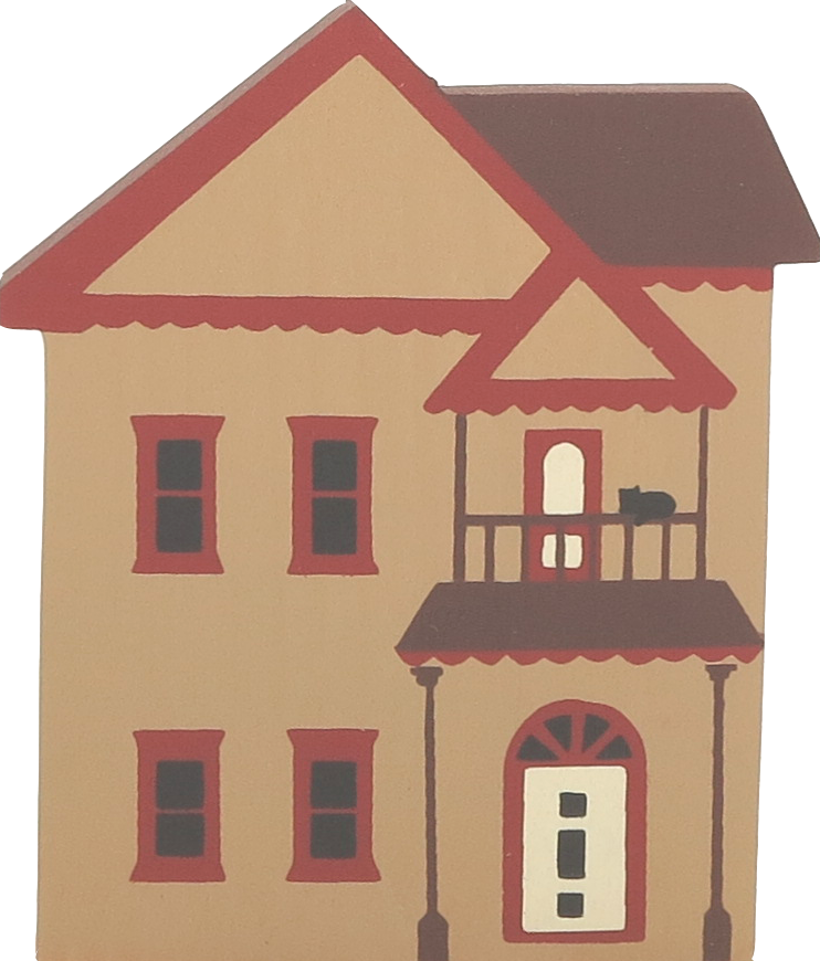 Design Your Own Victorian Home: The Cat's Meow Village