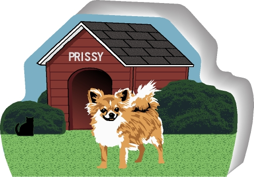 chihuahua dog houses dog house chihuahua purrsonalize me the cat s meow 5994