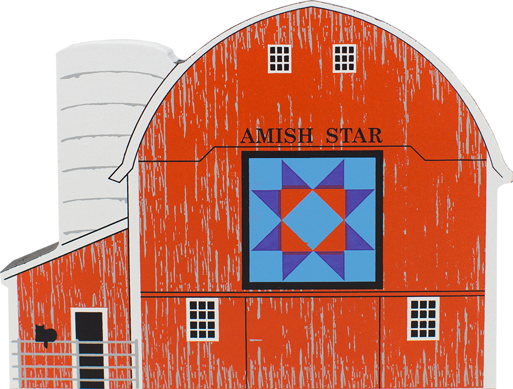 Amish Star Quilt Barn The Cat S Meow Village