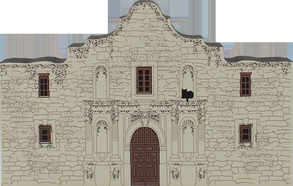 The Alamo San Antonio Tx The Cat S Meow Village