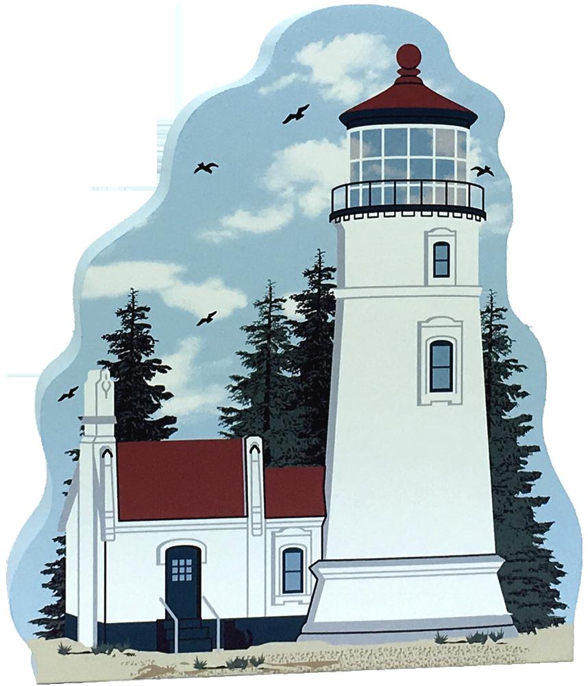 Umpqua River Lighthouse Winchester Bay Oregon The Cat