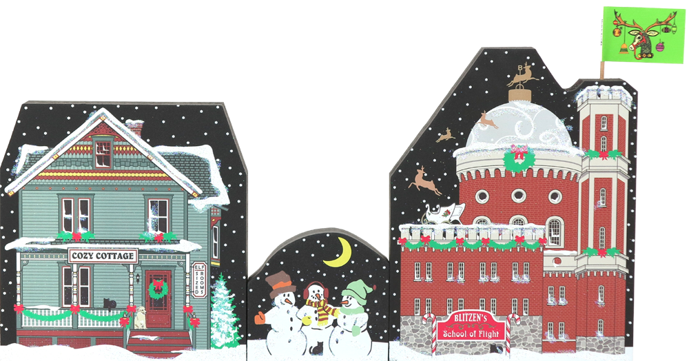 North Pole 2016 Set shown together