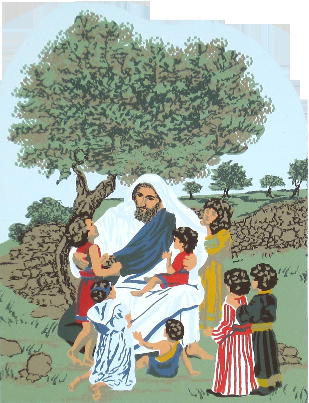 Jesus Amp The Children Mark 9 35 37 The Cat S Meow Village