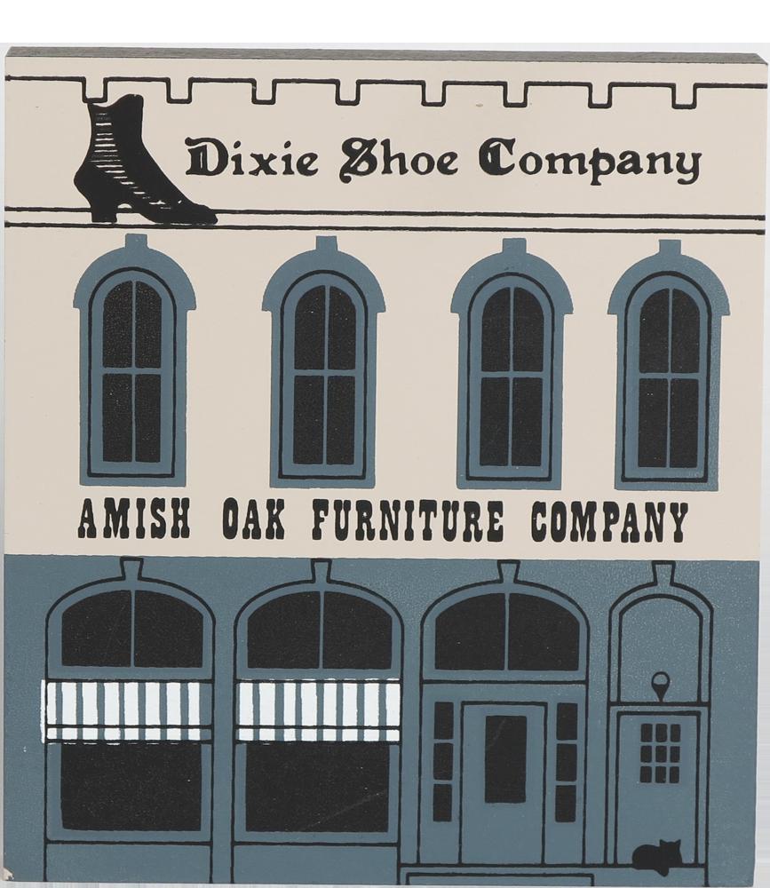 Amish Oak Dixie Shoe The Cat S Meow Village