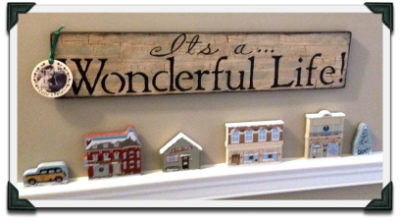 Annette found an It's A Wonderful Life sign to add to her Cat's Meow collection.