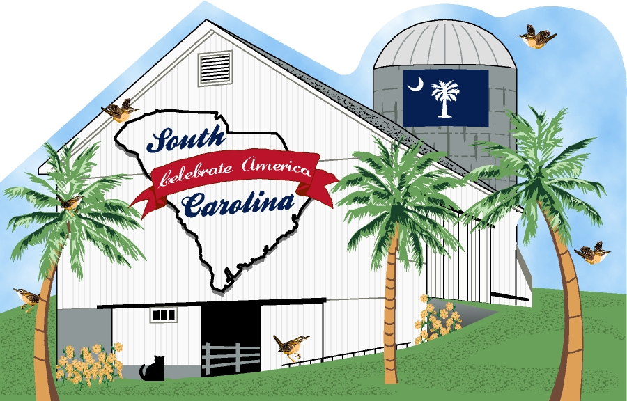 State Barn, South Carolina | The Cat's Meow Village