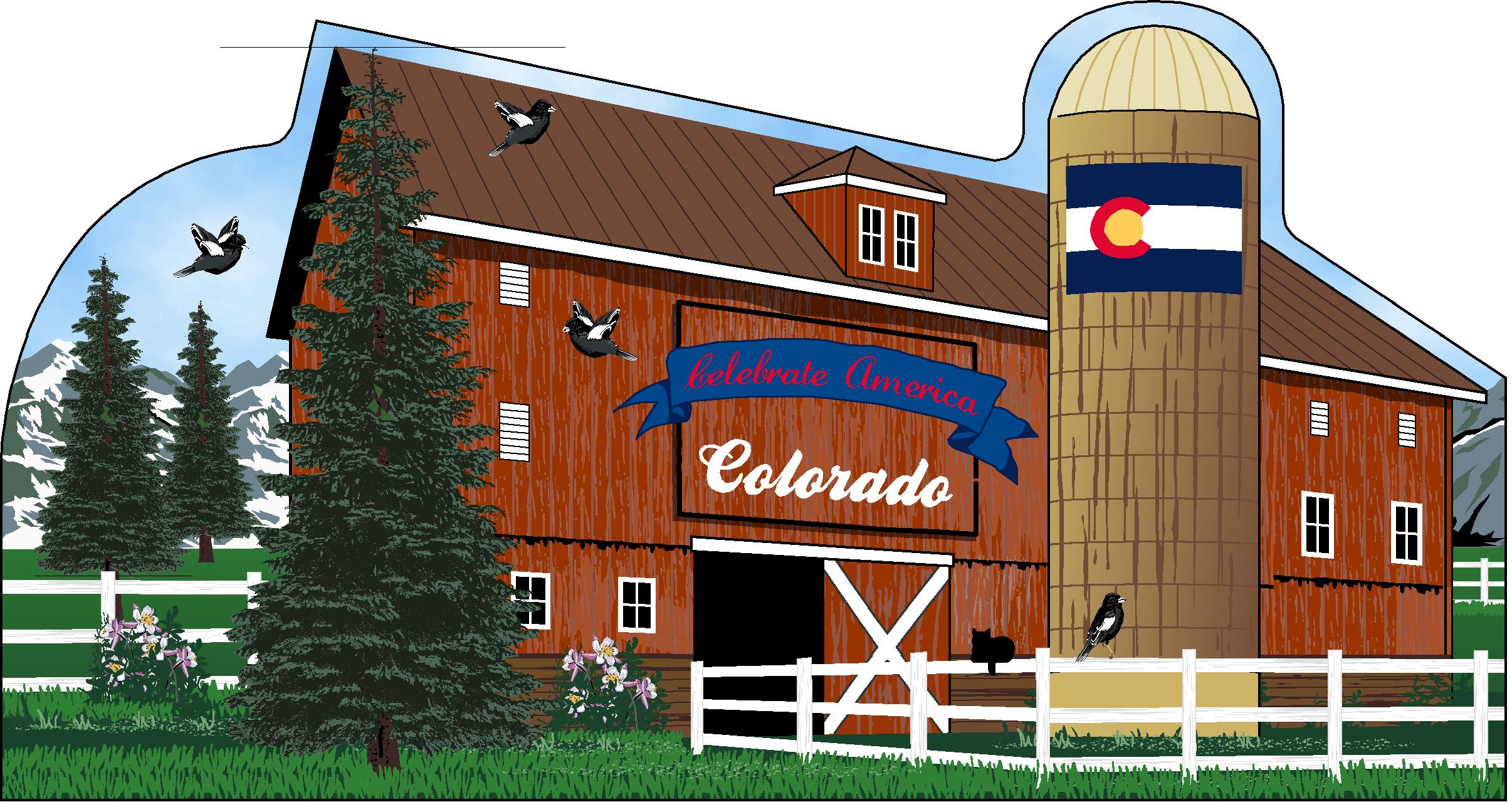 State Barn, Colorado | The Cat's Meow Village
