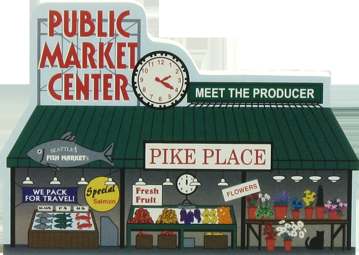 Pike Place Market Seattle Wa The Cat S Meow Village