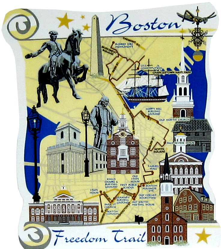 boston freedom trail boston ma  cats meow village