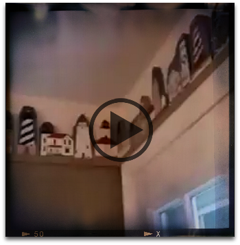 Click to watch Deneen's home video of her Cat's Meow collection.