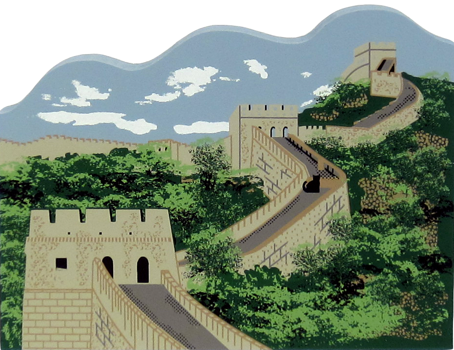 Great Wall Of China The Cat S Meow Village