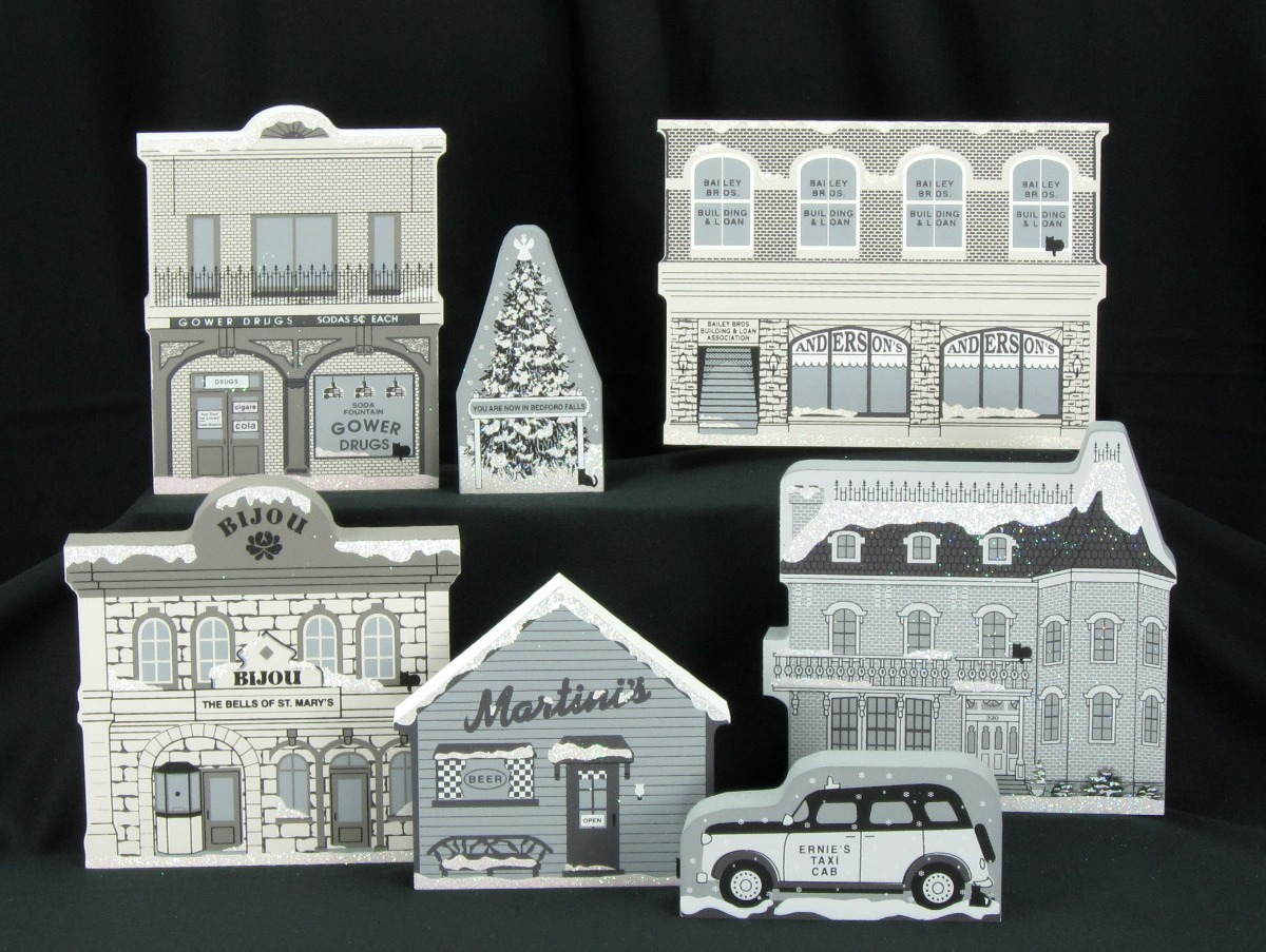 Bedford Falls Christmas Tree It 39 S A Wonderful Life The Cat 39 S Meow Village