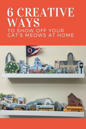See 6 ways other Cat's Meowers display their villages in their homes.