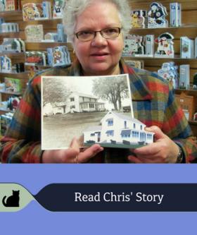 Read Chris' Cat's Meow story