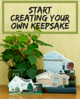 Start Creating Your Own Keepsake with a few simple clicks