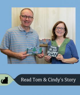 Tom & Cindy share a unique Cat's Meow story.