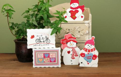 Check out our Valentine items. Some of them you can personalize.