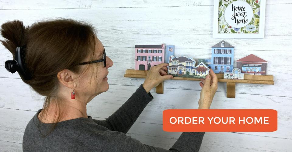 You can order a replica of your home to add to your Cat's Meow collection! It's the best way to save memories of a lifetime!