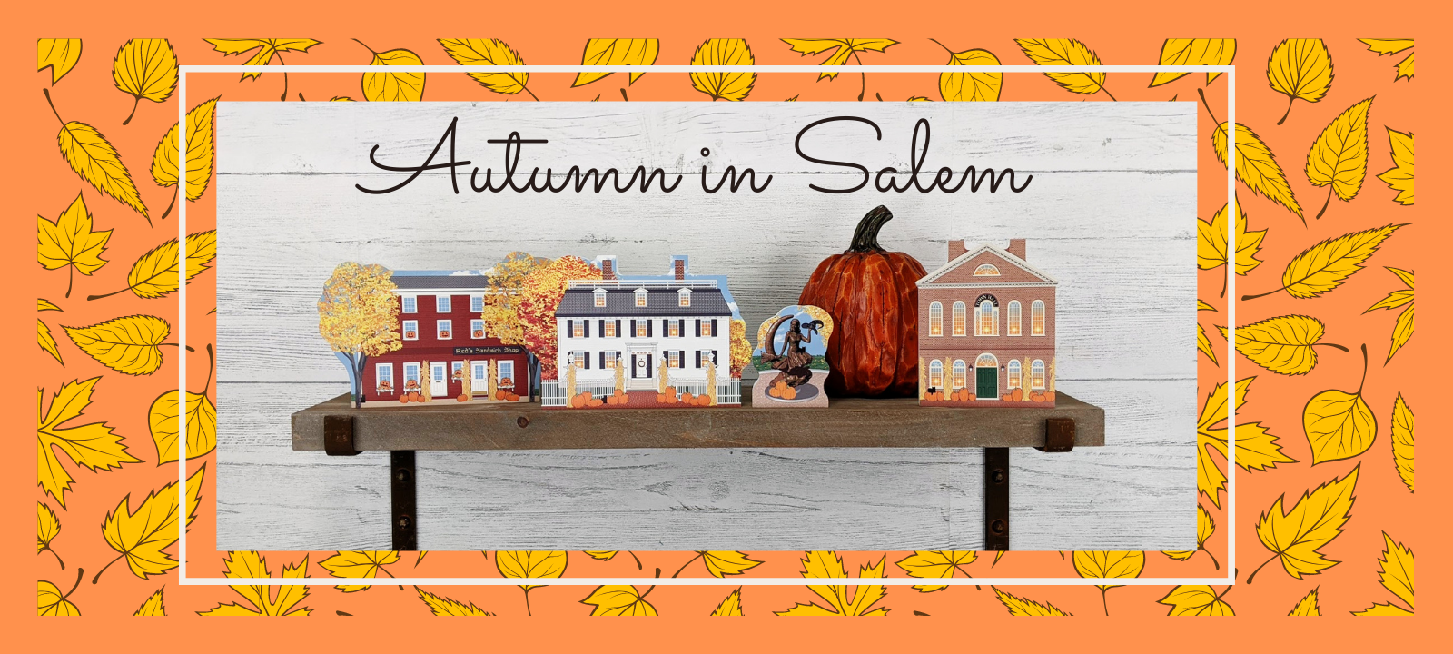 Get your paws on all our Autumn In Salem, Massachusetts collection including buildings from the Hocus Pocus movie.