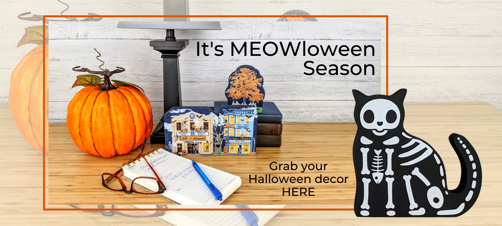 Get your paws on all your Halloween decorations here.