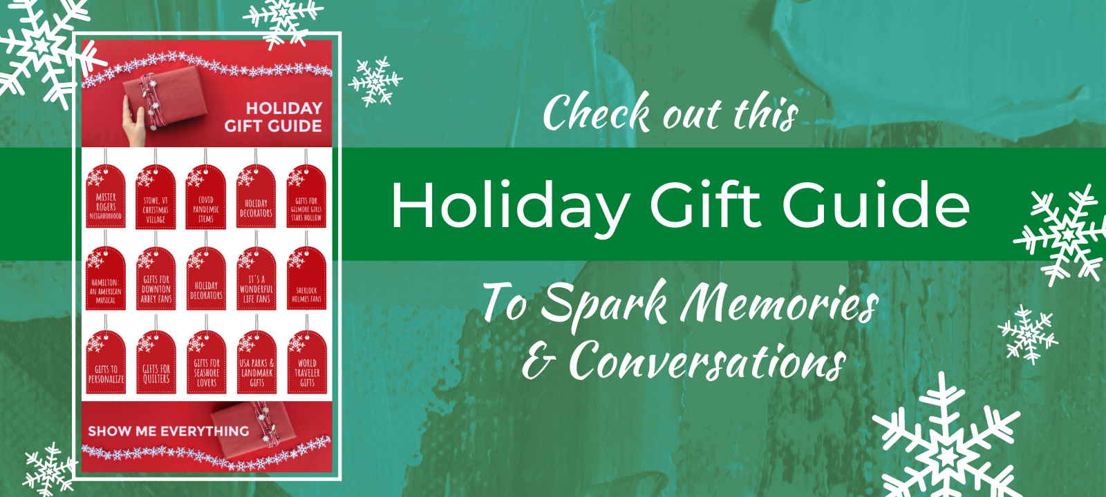 Check out our Holiday Gift Guide