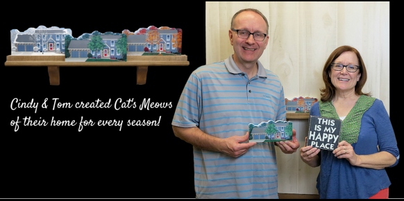 Cindy wanted her home created for every season because her home is her happy place!