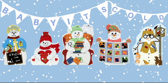 Express your personal style with a Cat's Meow snowman!