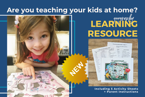 Use our state map designs to teach your kids geography, US history and social studies. Many activities included to download.