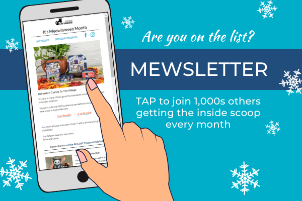Sign up for our Mewsletter list to get the latest news and savings every month.