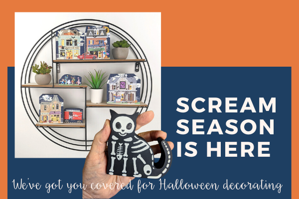Get your paws on our newest Halloween items including our glow-in-the-dark Skelocat!