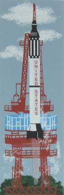 NASA, Mercury launch, Freedom 7, John Glenn, Alan Shepard, Gordon Cooper