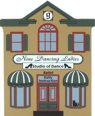 Nine Dancing Ladies Studio - Cat's Meow Twelve Days Of Christmas Collection