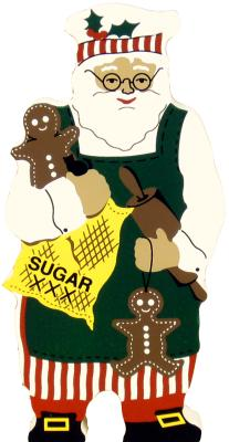 gingerbread, santa, baking, cookie maker