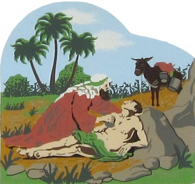 The Good Samaritan - Luke 10:29-37, Bible stories, story by Jesus Son Of God