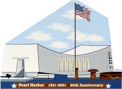 USS Arizona Memorial, Pearl Harbor, Oahu, Hawaii, WWII 1941