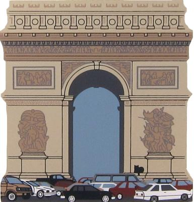 Arc de Triomphe, Paris, France, Champs Elysees, Napoleon Bonaparte