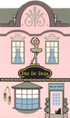 Nutcracker Ballet Pas De Deuz Ballet Shop, Sugar Plum Fairy and her Cavalier