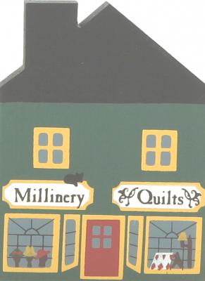Cat's Meow Millinery/Quilt, Vintage 1983 Series I