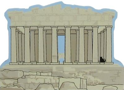 The Parthenon, Athens, Greece was built in the 5th century BC to honor the patron goddess Athena