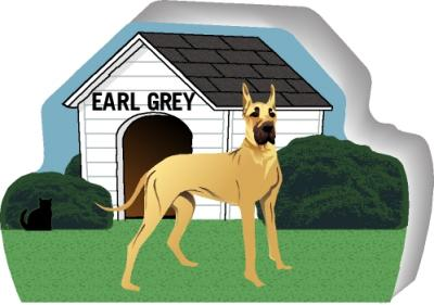 Great Dane can be personalized with your dog's name