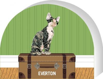Devon Rex cat by The Cat's Meow Village, PURRsonalize Me! Item