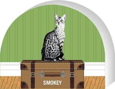 PURRsonalize Me! Egyptian Mau cat by the Cat's Meow Village