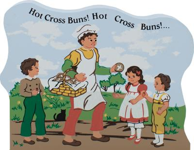 Hot Cross Buns, nursery rhymes, mother goose
