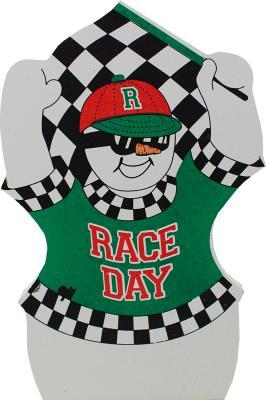 Race Day Snowman