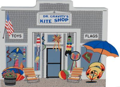 Dr. Gravity's Kite & Toy Shop, kites, seashore, windsocks, toy store, Cape Cod, Harwich Port, Massachesetts, nautical
