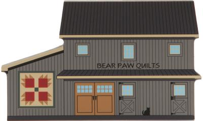 Bear Paws Quilt Barn, quilts, America's back roads