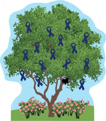 "Cystic Fibrosis Foundation, Cystic Fibrosis charity tree for 2014, ""65 roses"""