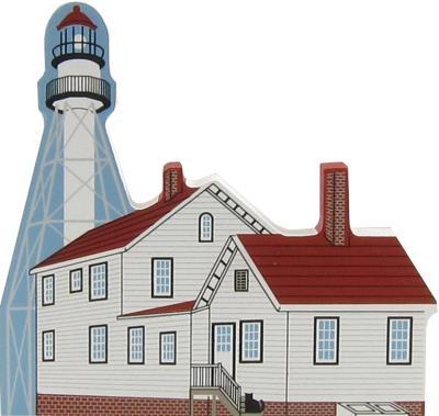 Whitefish Point Light, Michigan, lighthouse, nautical,