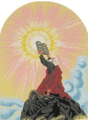 Moses & Ten Commandments - Exodus 20:1-17, Bible stories, Moses, Ten Commandments